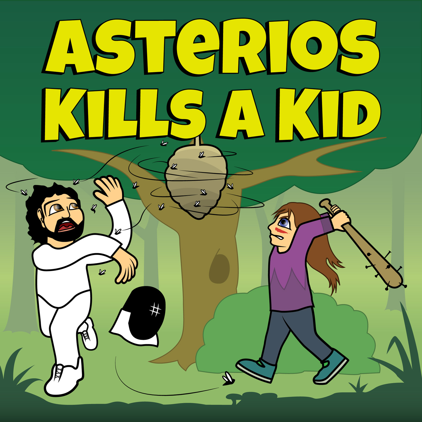 Asterios Kills A Kid #2: The Birds & The Wasps