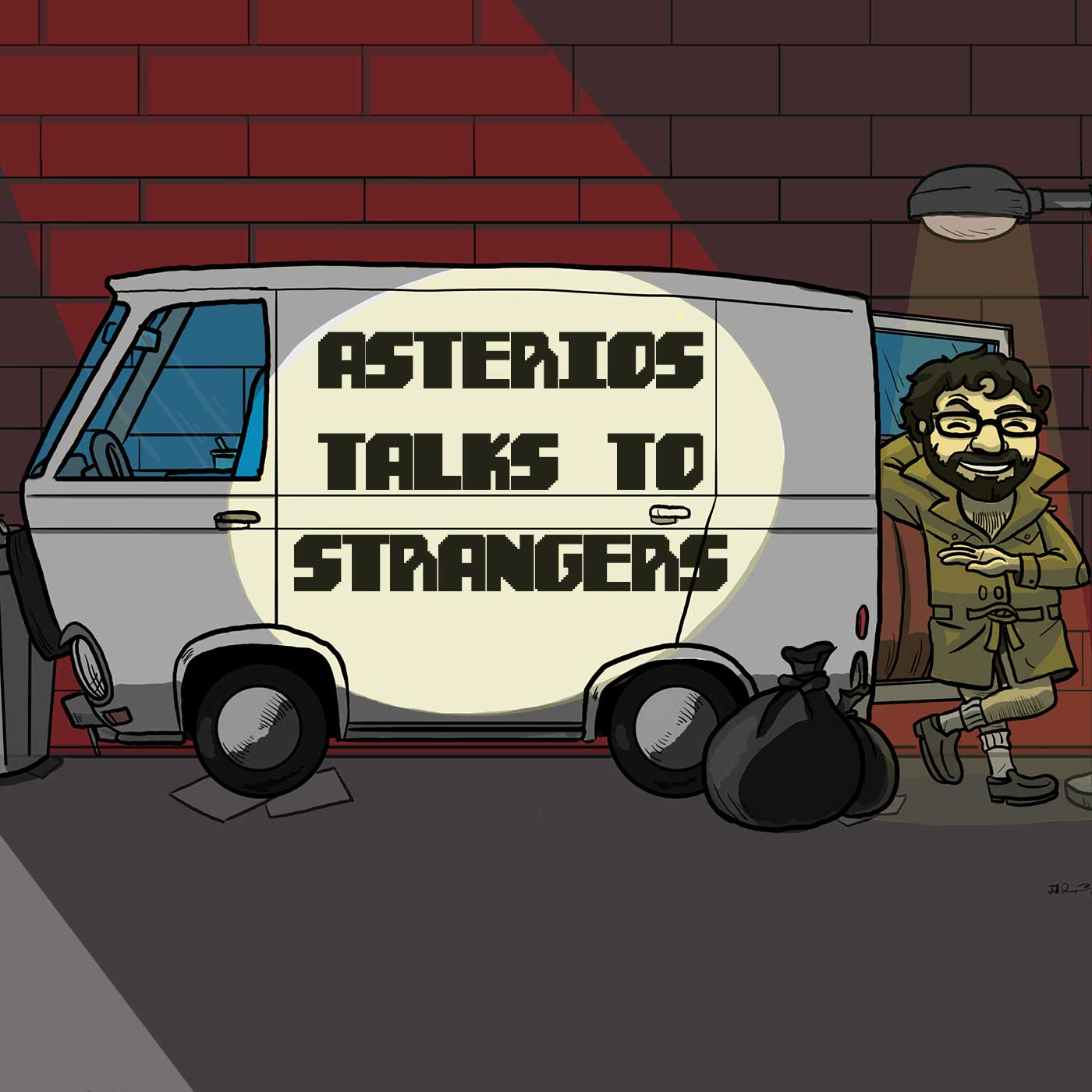 Asterios Talks To Strangers #4: Metal Gear Continuity Expert Drivershaft
