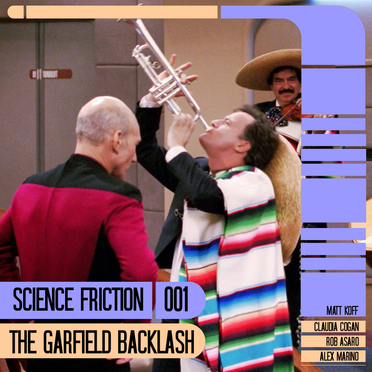 Science Friction 001: The Garfield Backlash
