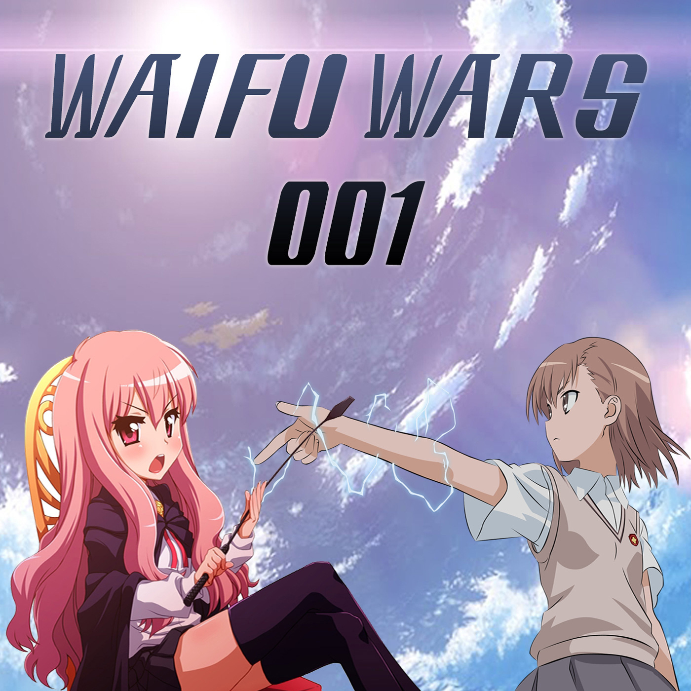Waifu Wars 001: Misaka vs Louise