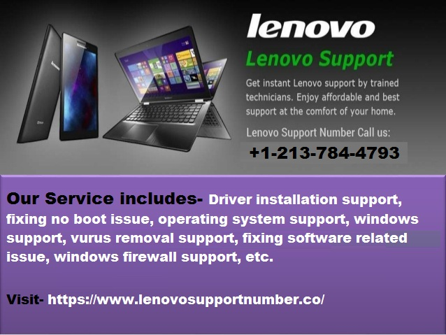 Call Lenovo Support Number to Get Your Issue Resolved