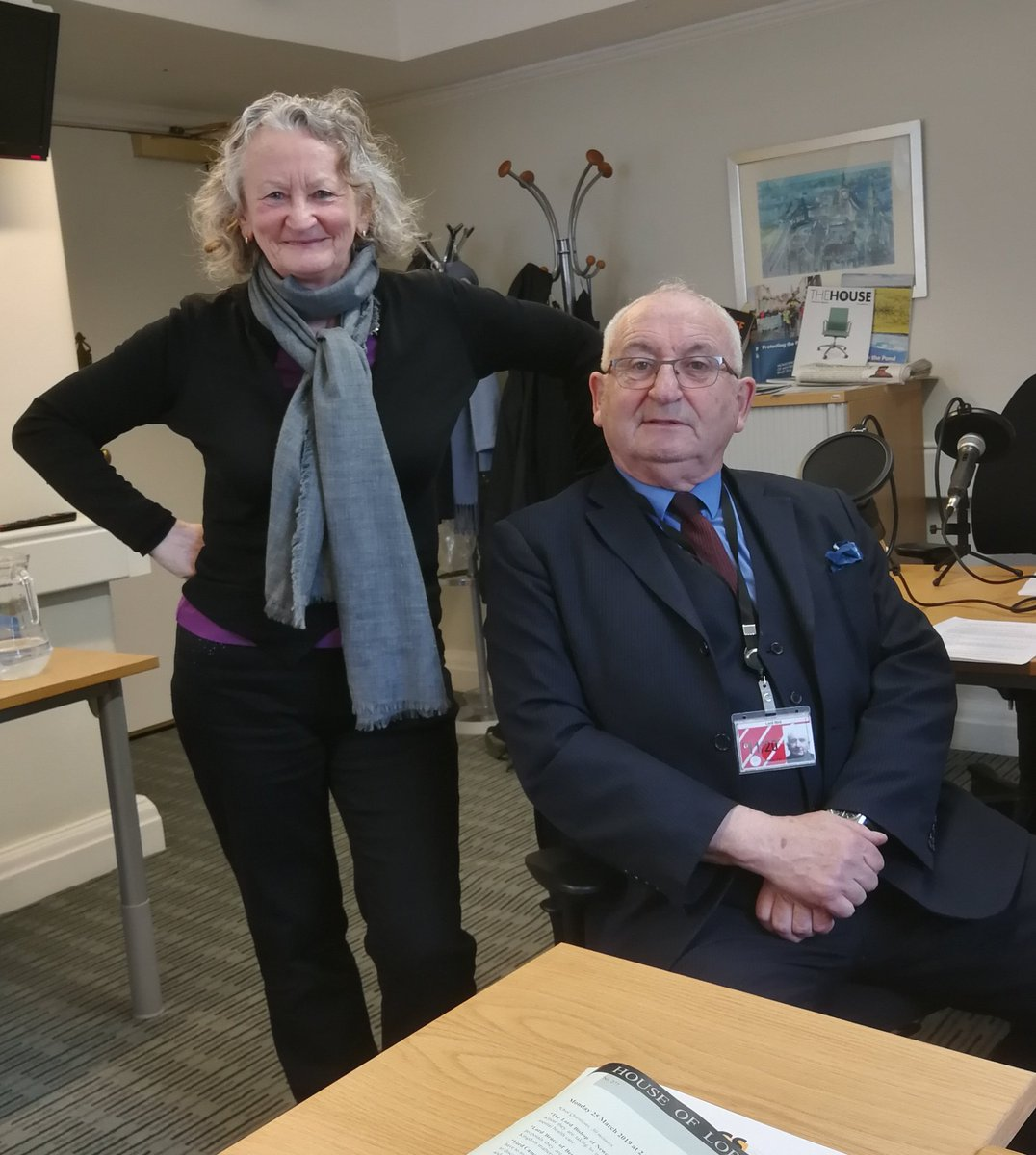 Green Jenny Jones talks to John Bird, founder of the Big Issue and independent peer