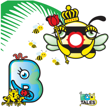 EcoTales: Queenie and Bod Biodiversity in Seeds for Bees