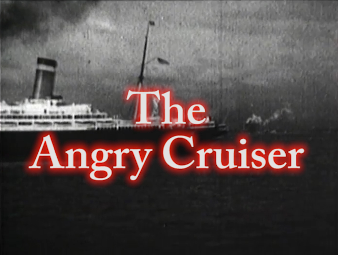 The Angry Cruiser!  July 4, 2017