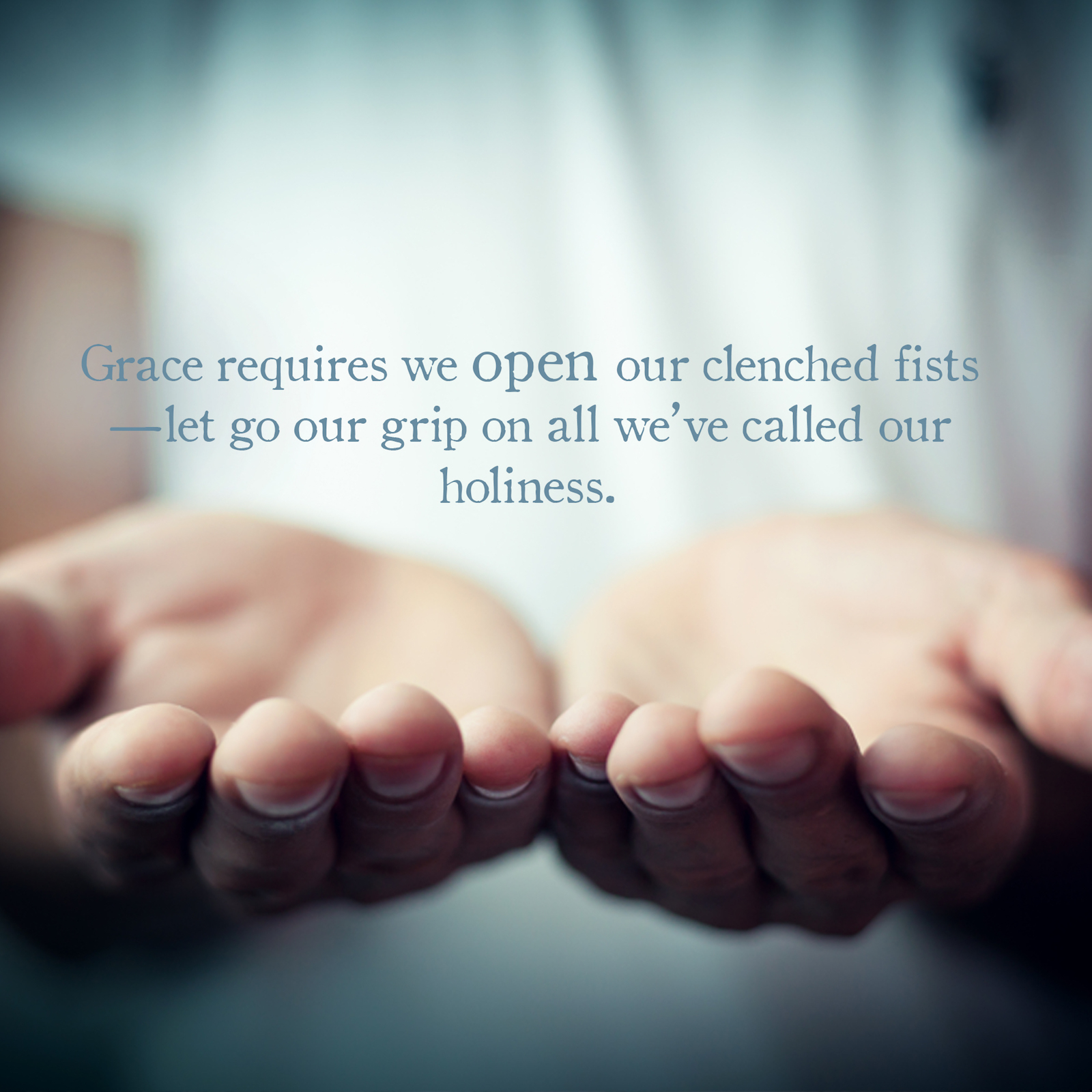WHAT GRACE REQUIRES (May 19, 2018)