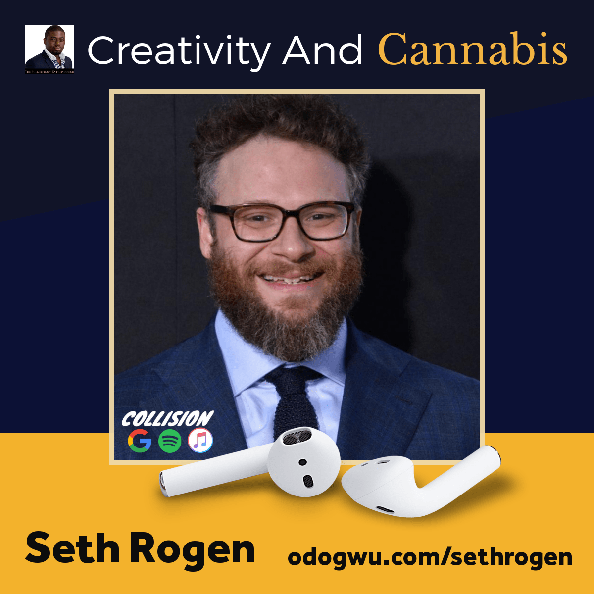 Seth Rogen Discusses Cannabis & Creativity At Collision Conference