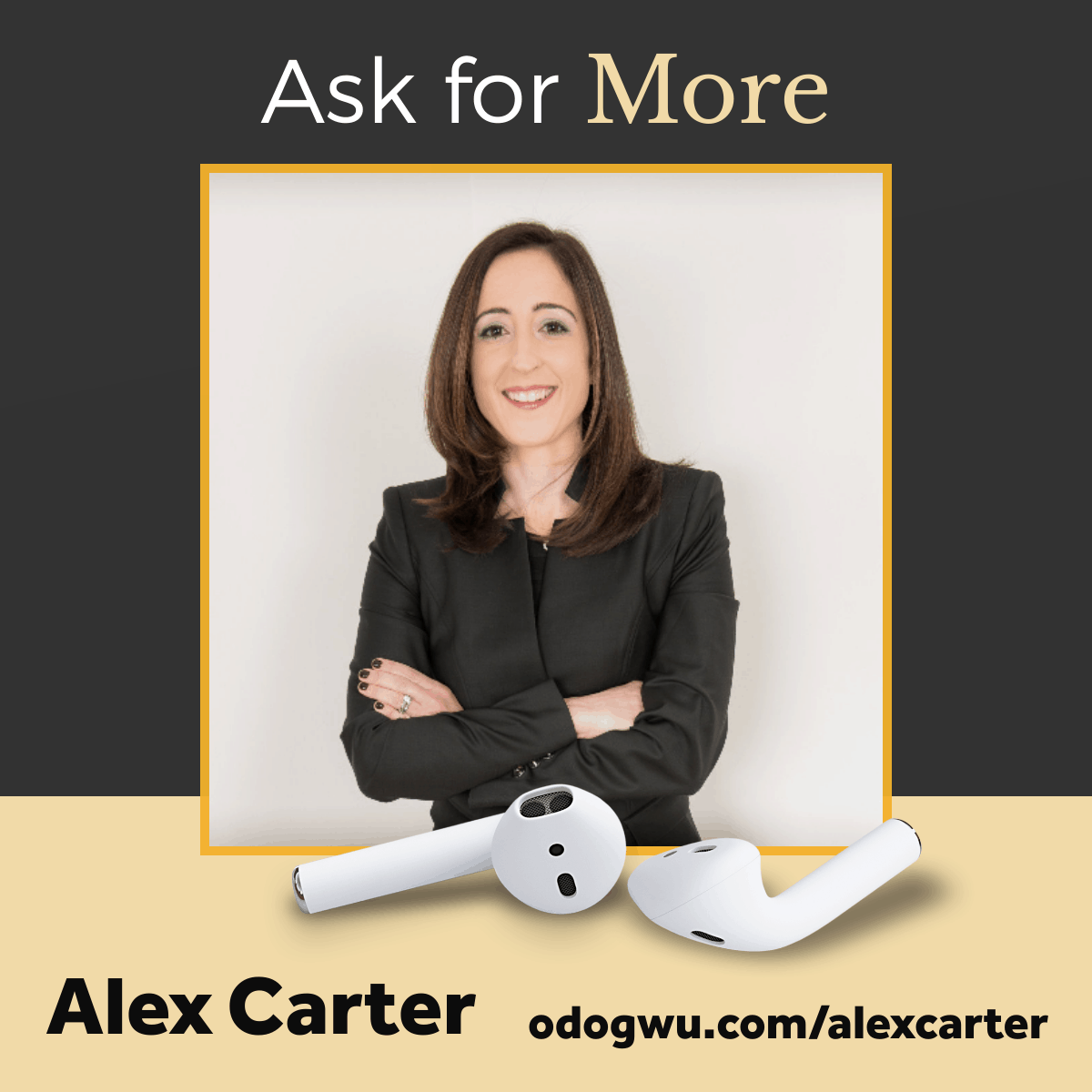 How to Ask for More with Alex Carter