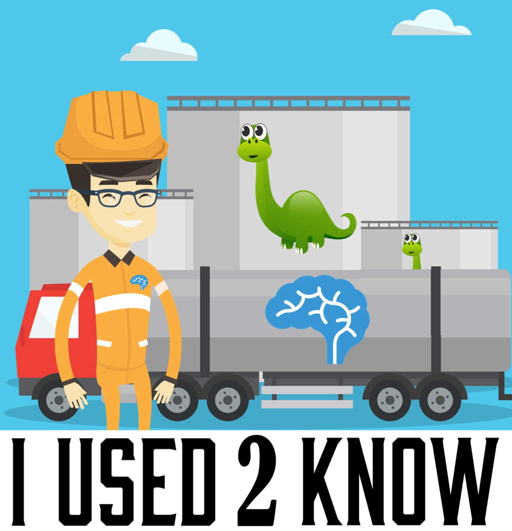 I Used 2 Know- Oil came from Dinosaurs (Minipod)