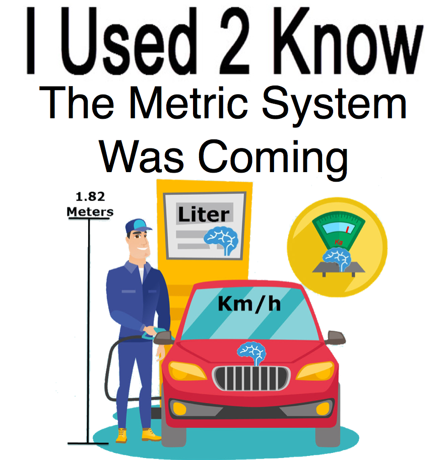I Used 2 Know- The Metric System was Coming
