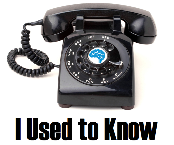 I Used 2 Know Phone Numbers