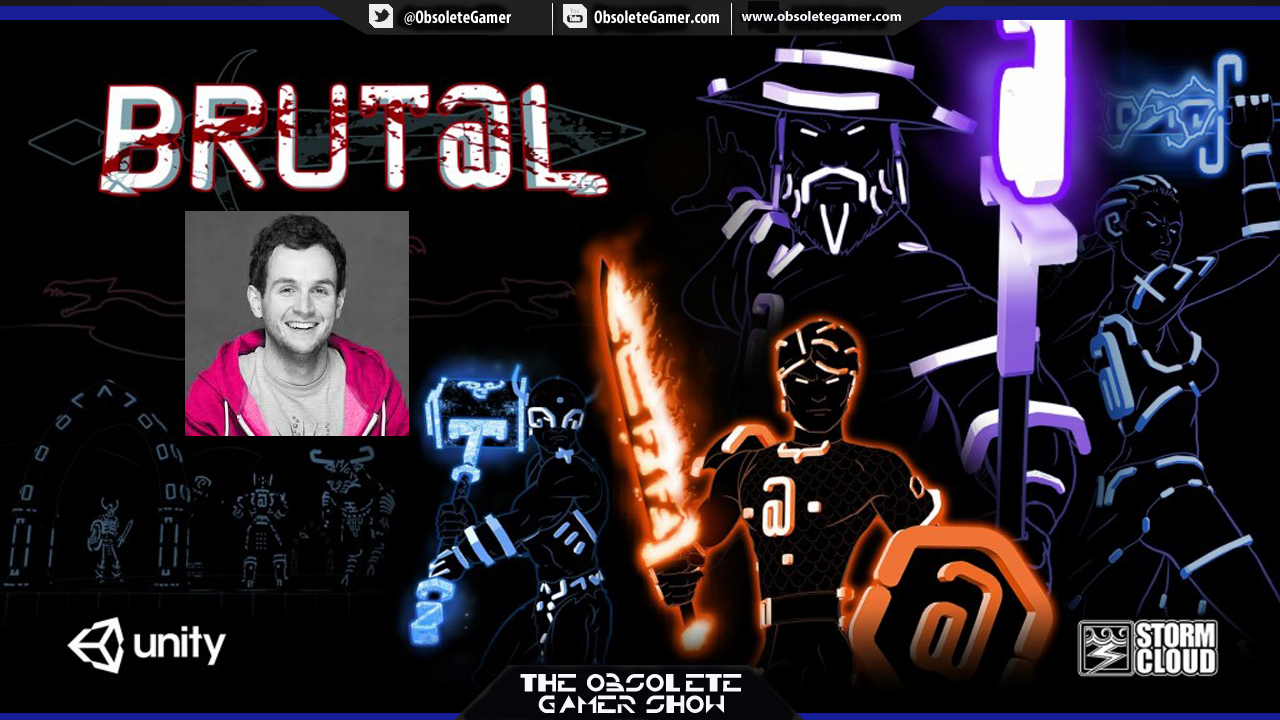 The Obsolete Gamer Show: Richard Wood - Brut@l (Stormcloud Games)