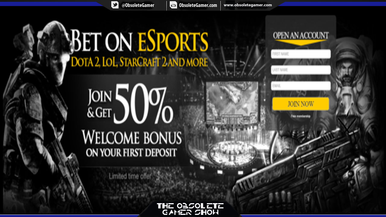 The Obsolete Gamer Show: Online Gambling & eSports with Scott Cooley (Bookmaker EU)
