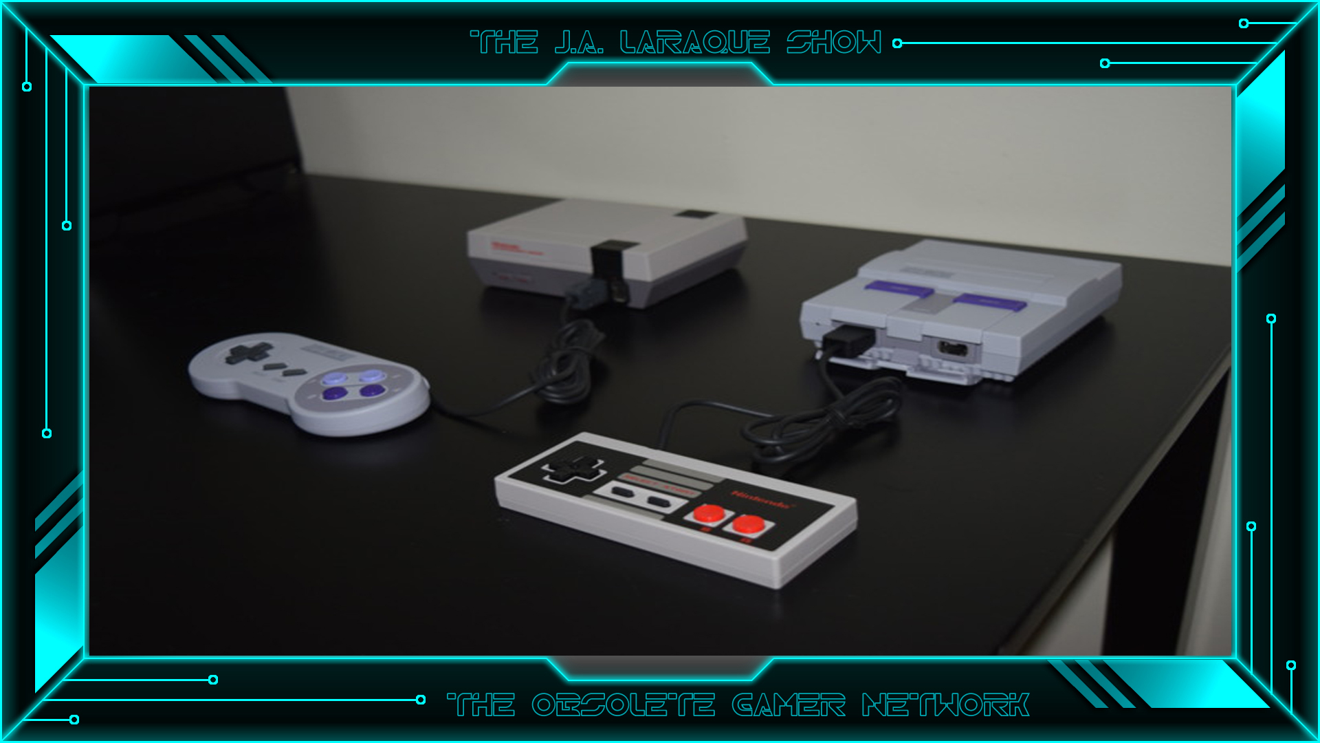 The J.A. Laraque Show - E4 - The NES & SNES with Luis Zena of Retro Gaming Life