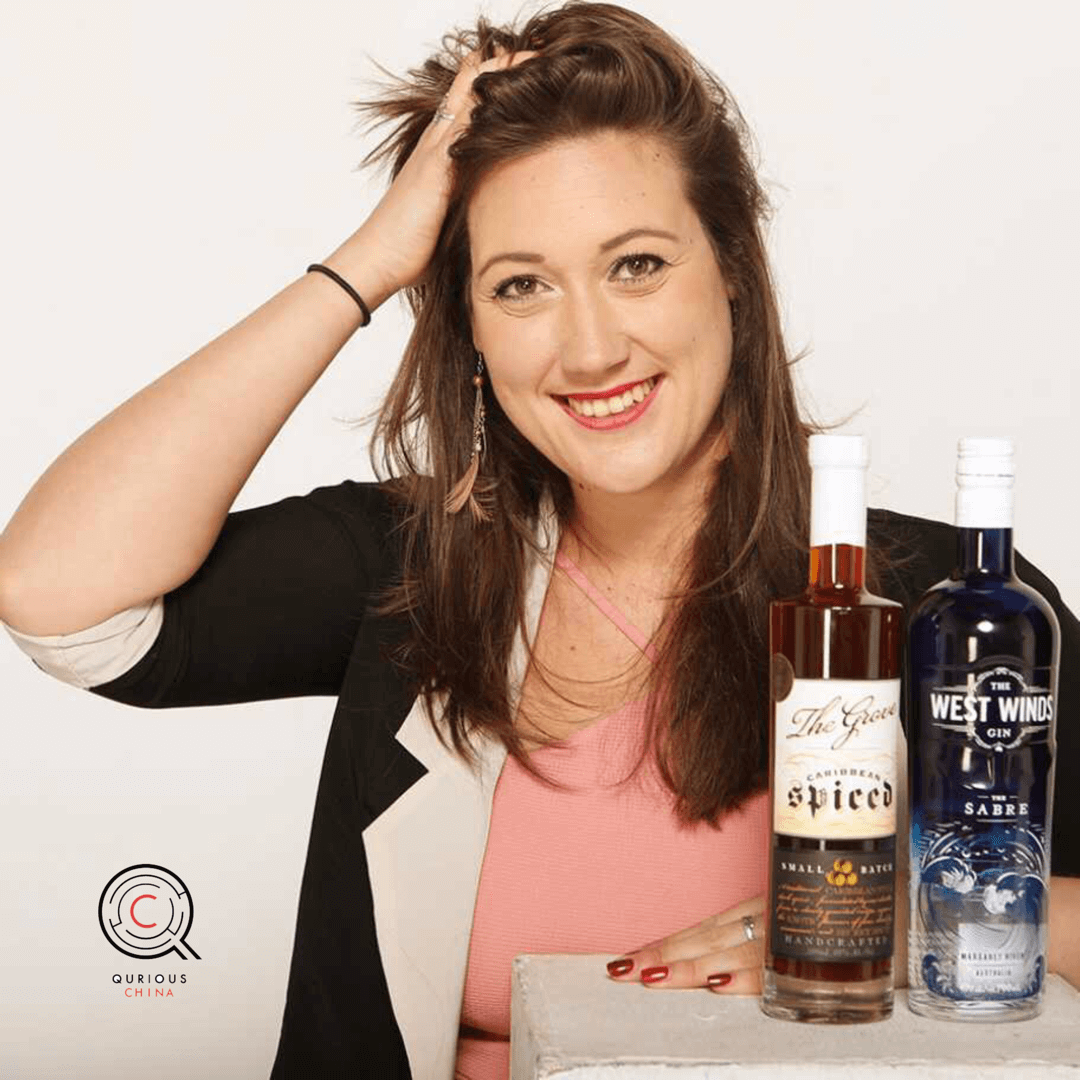 Qurious China Episode 6 - with Hannah Keirl, Founder, Spirits Box