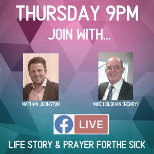 Live conversation with Mike Holohan