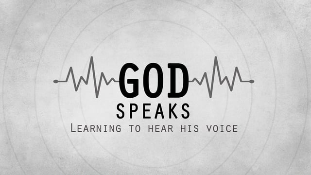 Pastor Stephen Campbell - Hearing The Voice of God
