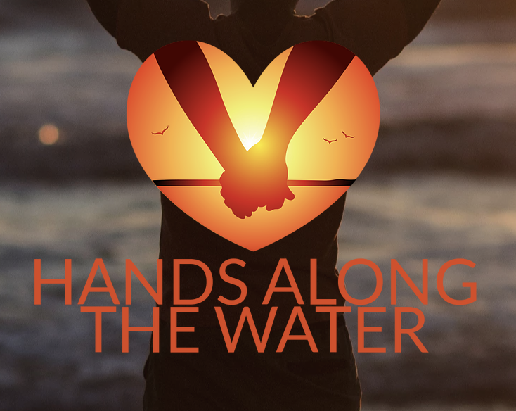 Hands Along the Water
