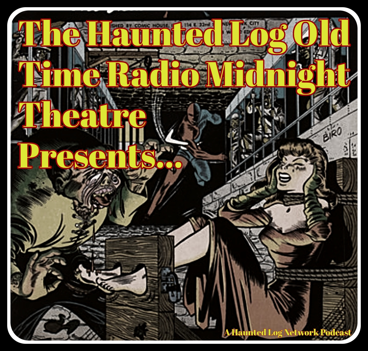 Ep 62 The Haunted Log Old Time Radio Midnight Theatre Presents ... X Minus 1 Marionettes Inc.