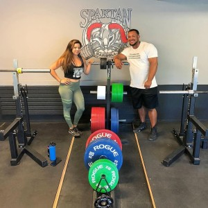Joe and Samantha Todd:  Spartan Barbell (Strength, Hardwork, Dedication)