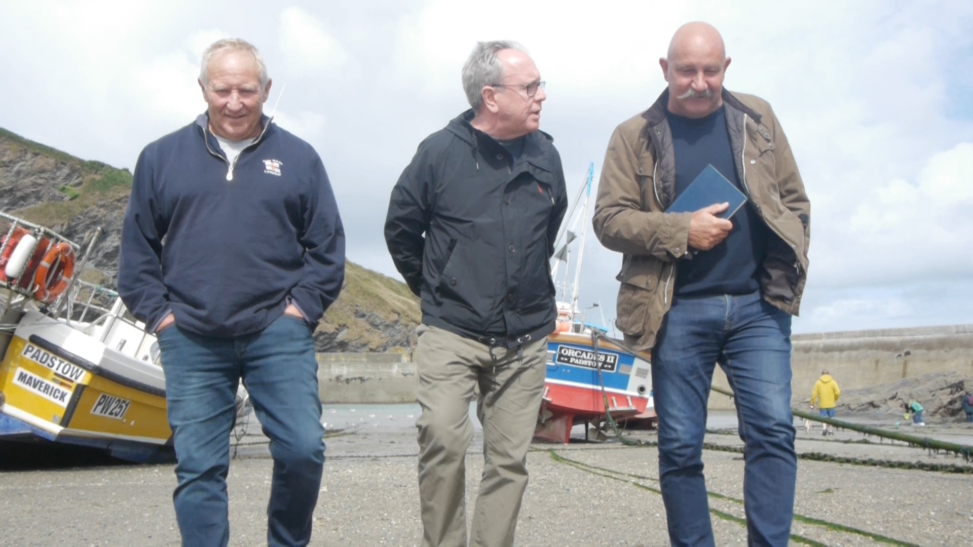 Fisherman's Friends in Port Isaac