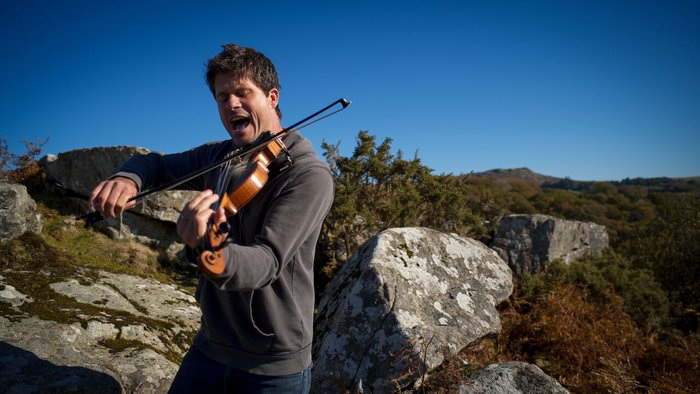 Seth Lakeman on Dartmoor