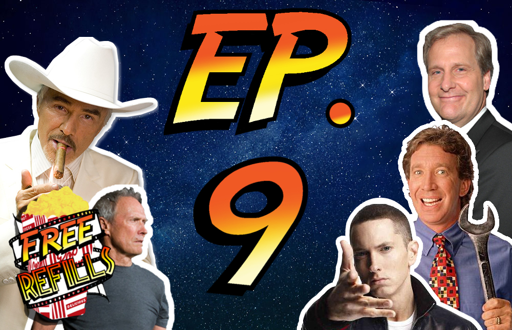 Free Refills Podcast: Ep. #9 RIP Burt Reynolds, Movies From 50 States | Michigan, & Our First Caller!- Movie Podcast