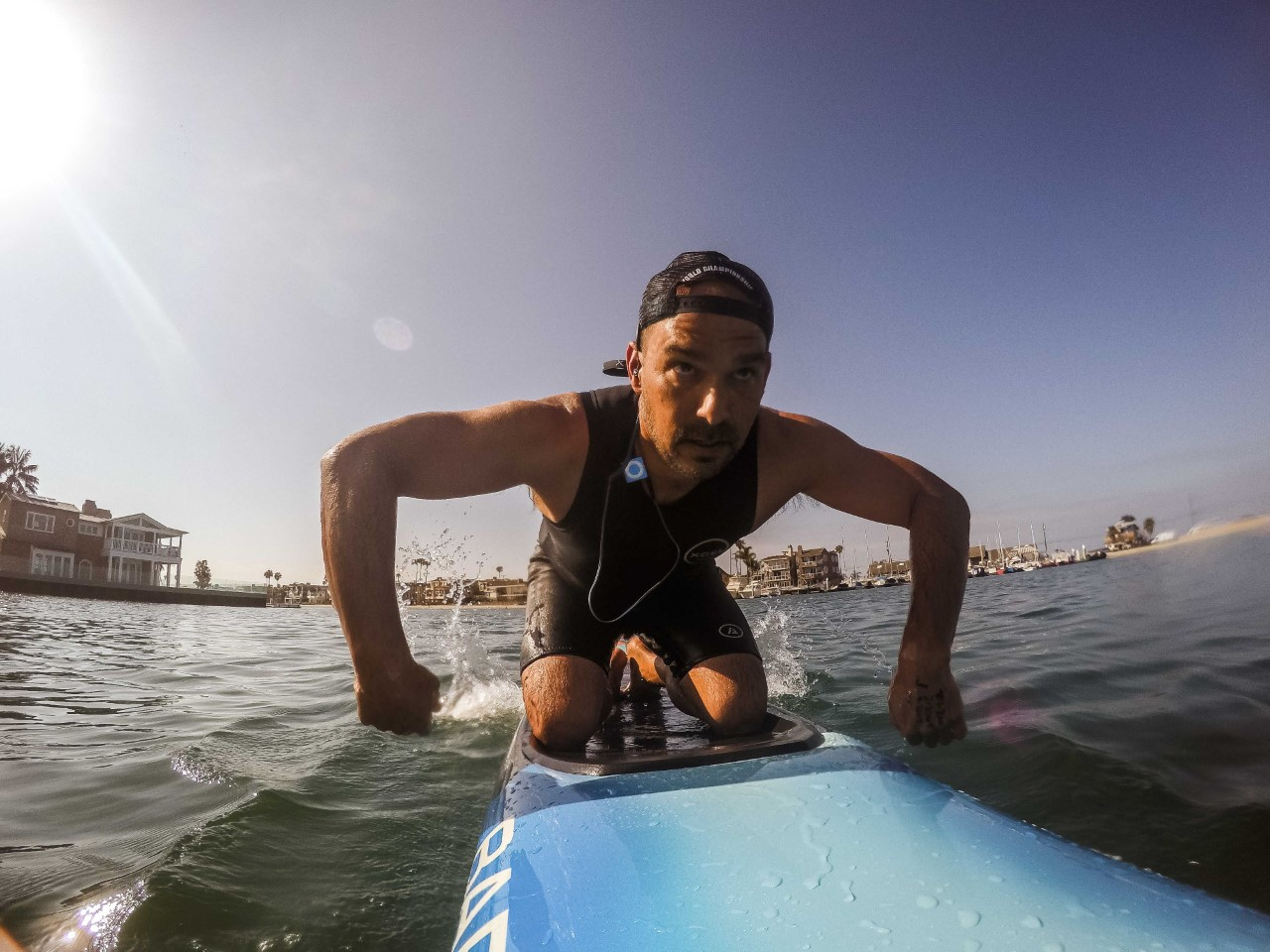 Chris Aguilar - endurance board paddling, ocean videos, helping others