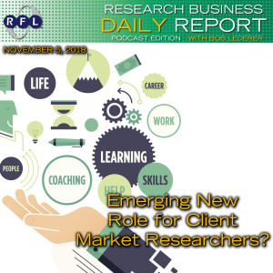 Emerging New Role for Client Market Researchers?