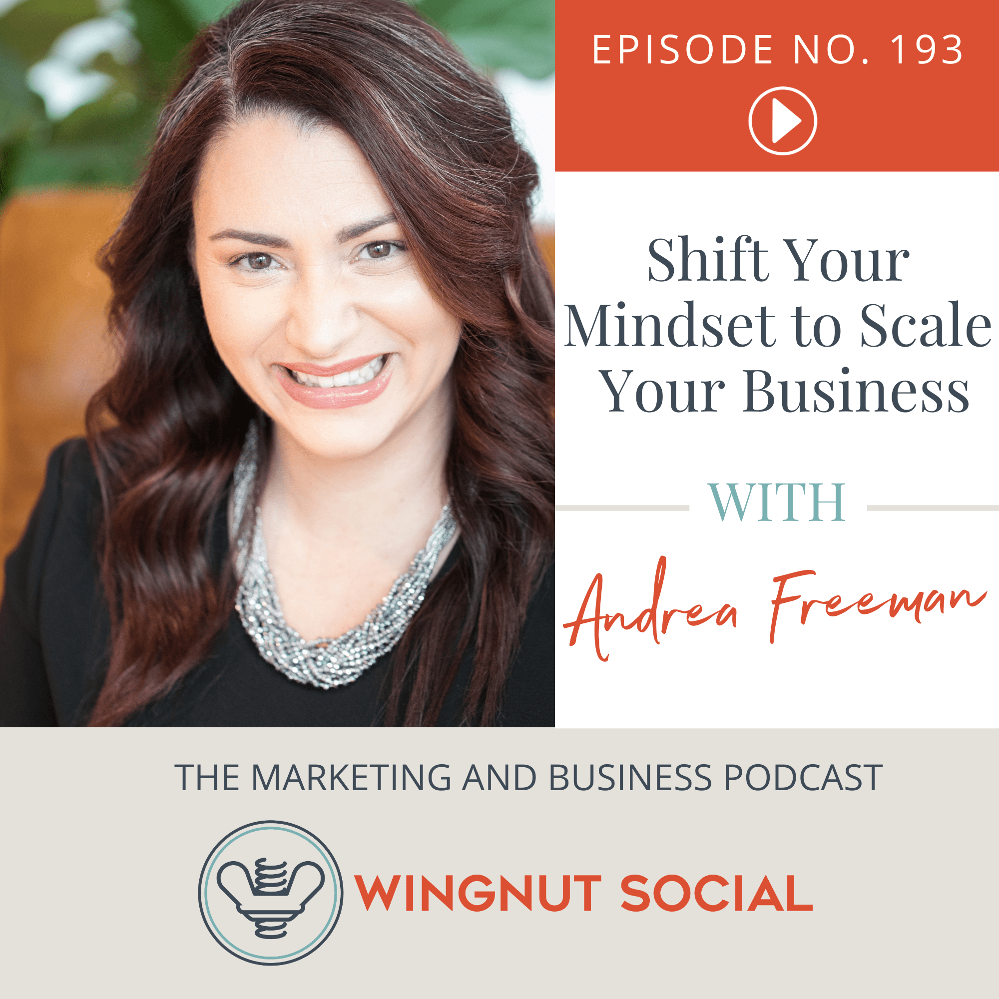Andrea Freeman's Method: Shift Your Mindset to Scale Your Business - Episode 193