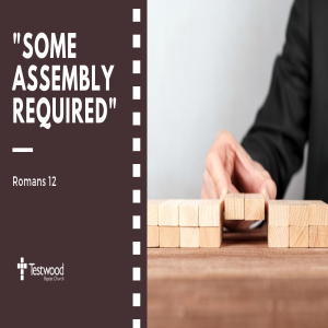 Some Assembly Required 1 - 28.07.19
