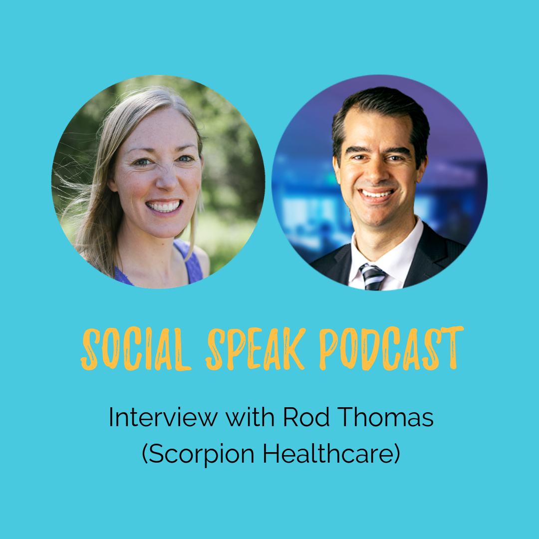 Interview with Rod Thomas - Director of Sales at Scorpion Healthcare