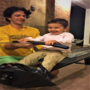 2 special needs Dad talking about Rowing marathon, fitness and Fatherhood