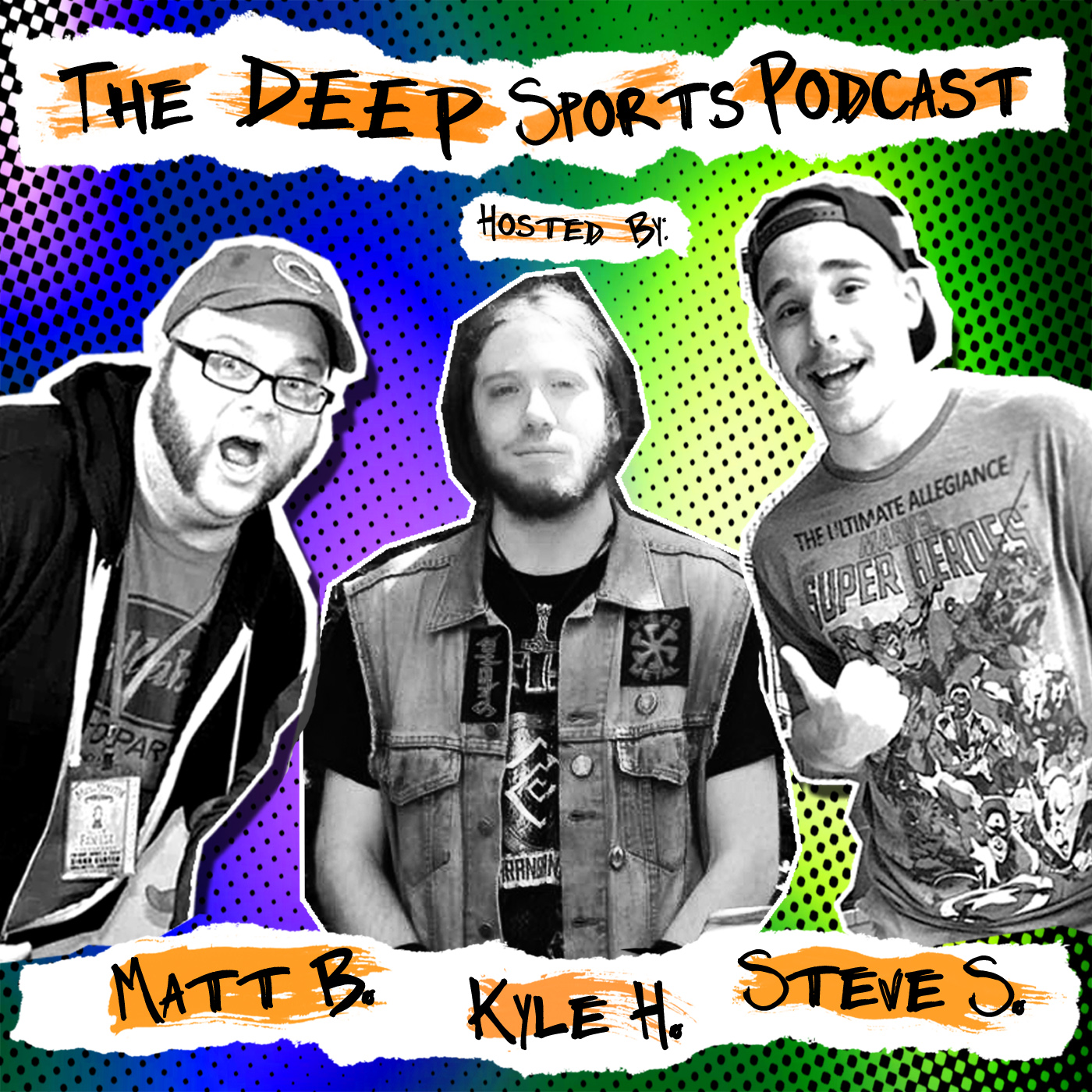 Deep Sports Podcast 005: Insert Witty Title About Being Back From Vacation Here
