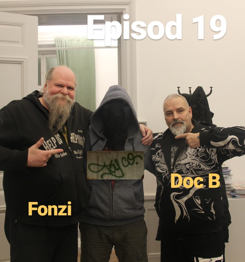 Episod 19. Fonzi & Doc B (TOY CO) feat. Moral