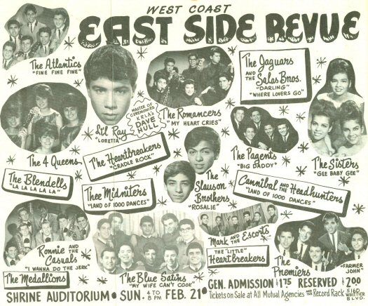 Eastside Sound of East Los Angeles in the '60s