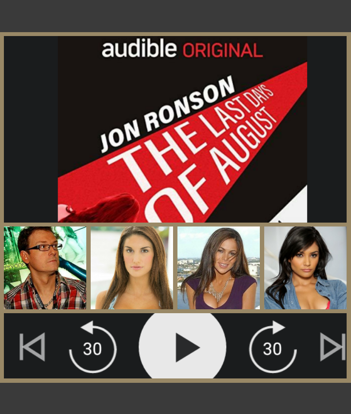 The Last Days of August - why every pornography industry professional needs to listen to JoN Ronson's masterpiece on the REALITY of the adult entertainment industry