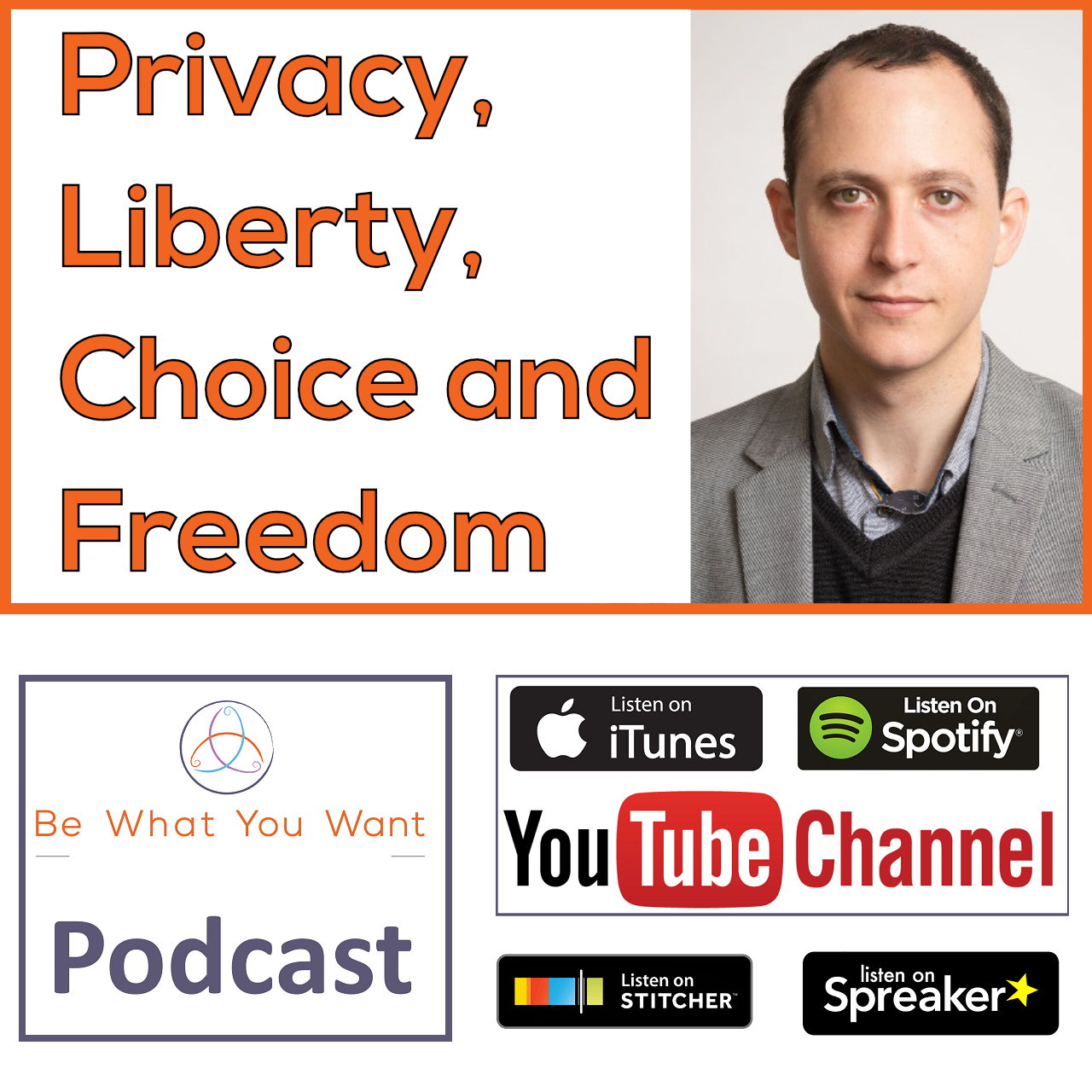 Privacy, Liberty, Choice & Freedom with Kade Morton, Security Consultant