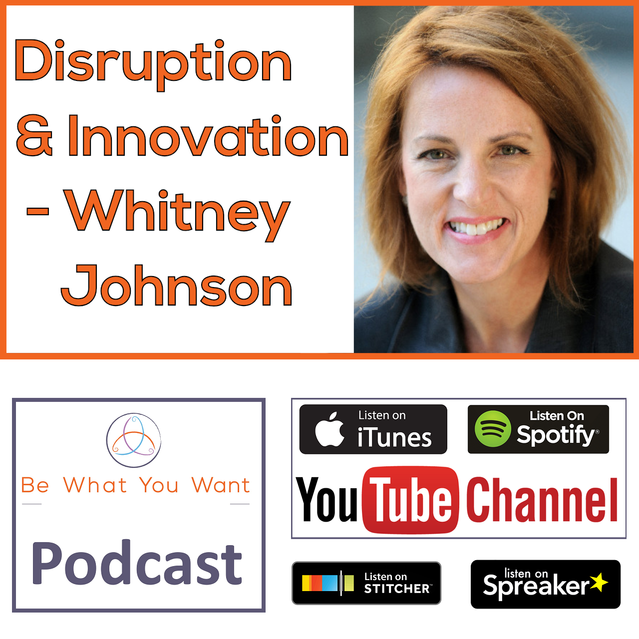 Disruption & Innovation - Whitney Johnson