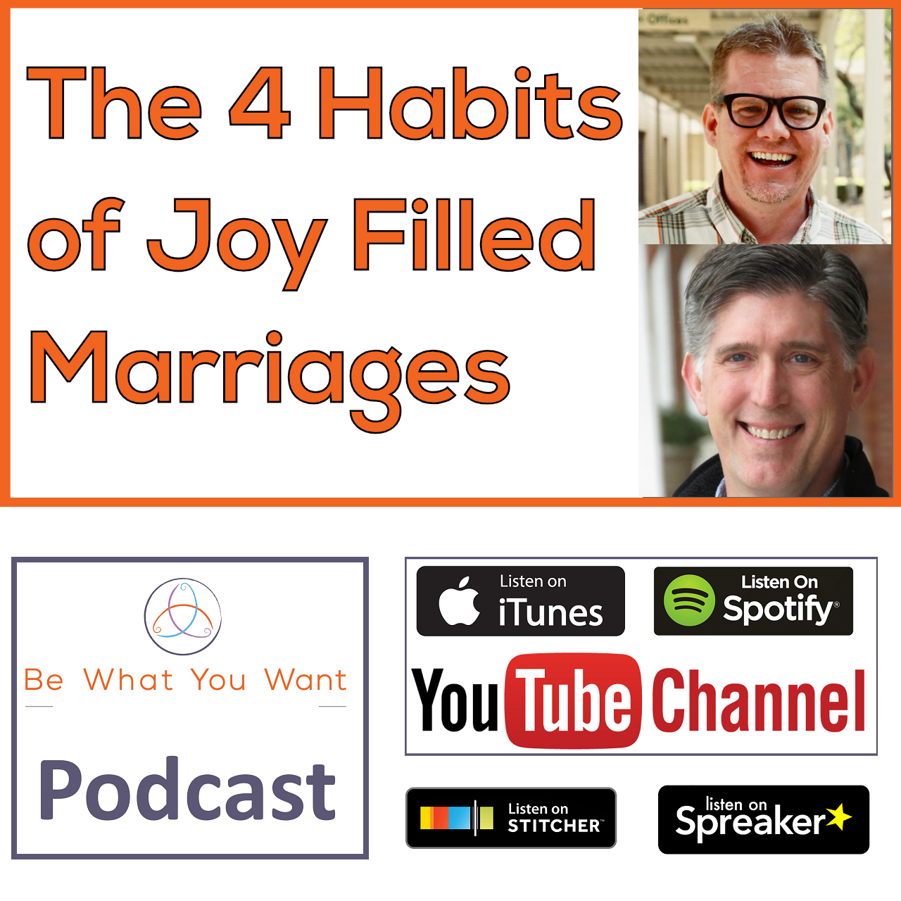 THE 4 HABITS OF JOY-FILLED MARRIAGES - Marcus Warner & Chris M Coursey