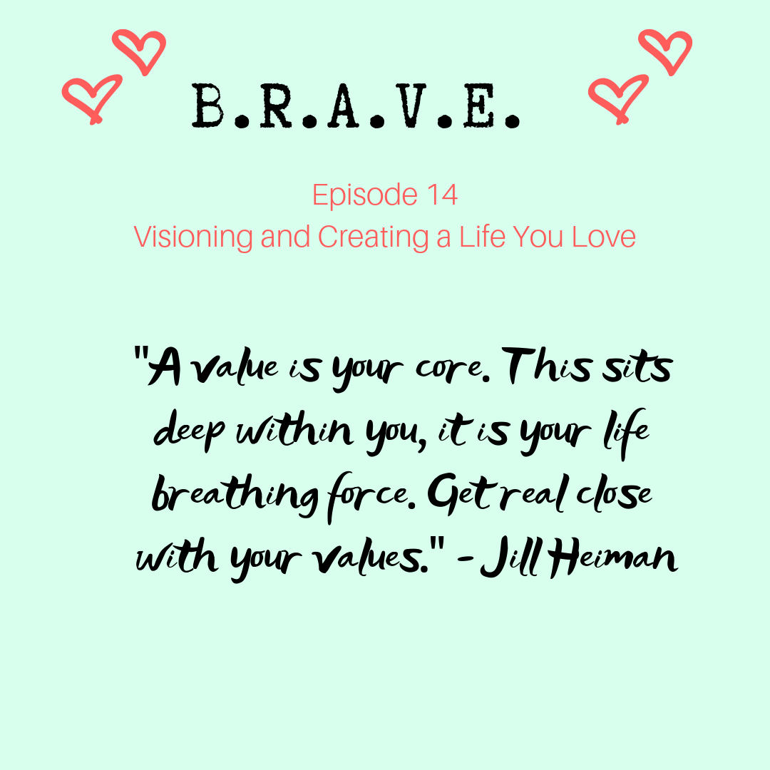 EP 14 Visioning and Creating a Life You Love with Jill Heiman