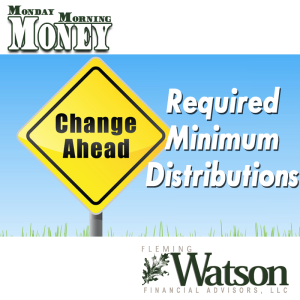 Changes to Required Minimum Distributions