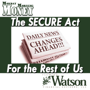 The SECURE Act for the Rest of Us