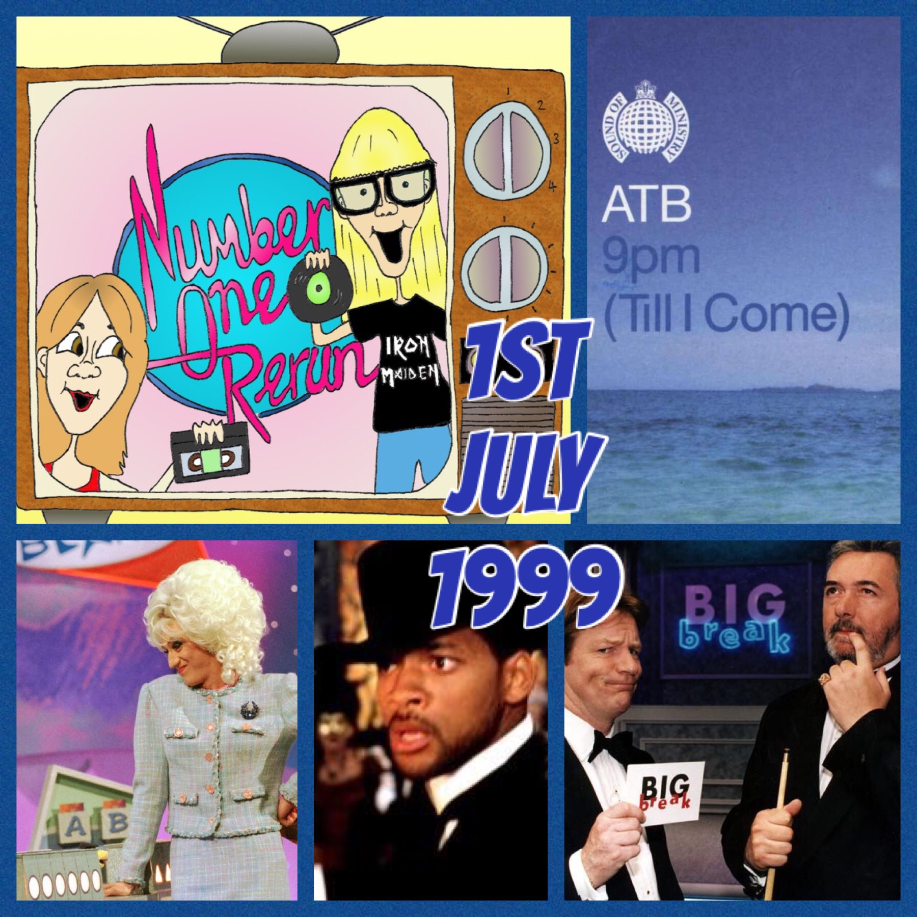 1st July 1999 - Super Match Game & Will Smith