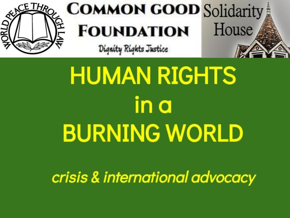 Human Rights in a Burning World #2 — The World Burns Unequally (4/19/2019)