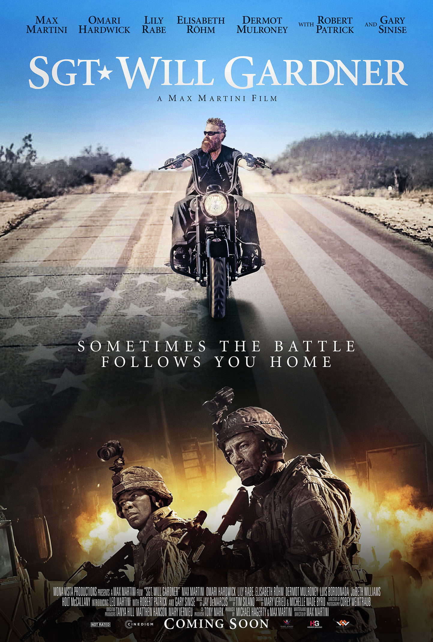 Sometimes the Battle Follows You Home – Hollywood Actor Max Martini and Army Veteran Luis Bordonada