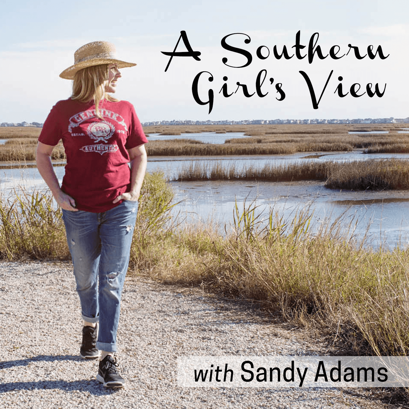 #9 Author Kathleen Maca | A Southern Girl's View with Sandy Adams