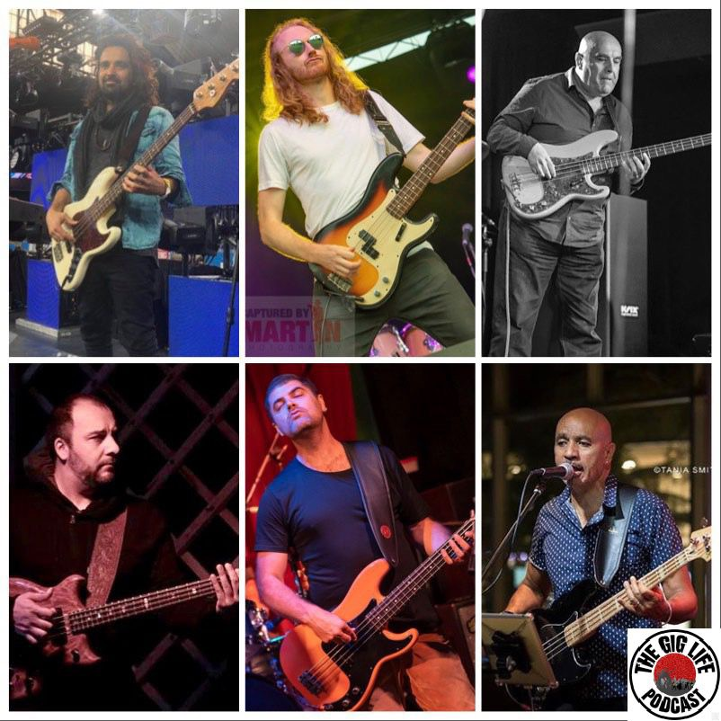 Round Table Podcast.Episode 46 Tglp Bass Players Round Table Part 2 The Gig Life