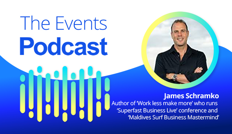 James Schramko - Author of 'Work less make more' who runs 'Superfast Business Live' conference and 'Maldives Surf Business Mastermind'