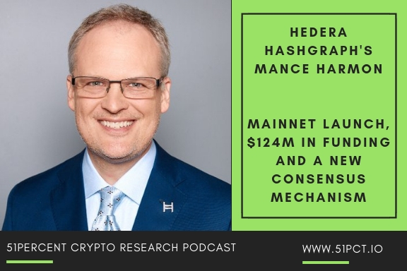 Hedera Hashgraph's Mance Harmon: Mainnet Launch, A $6B Valuation and