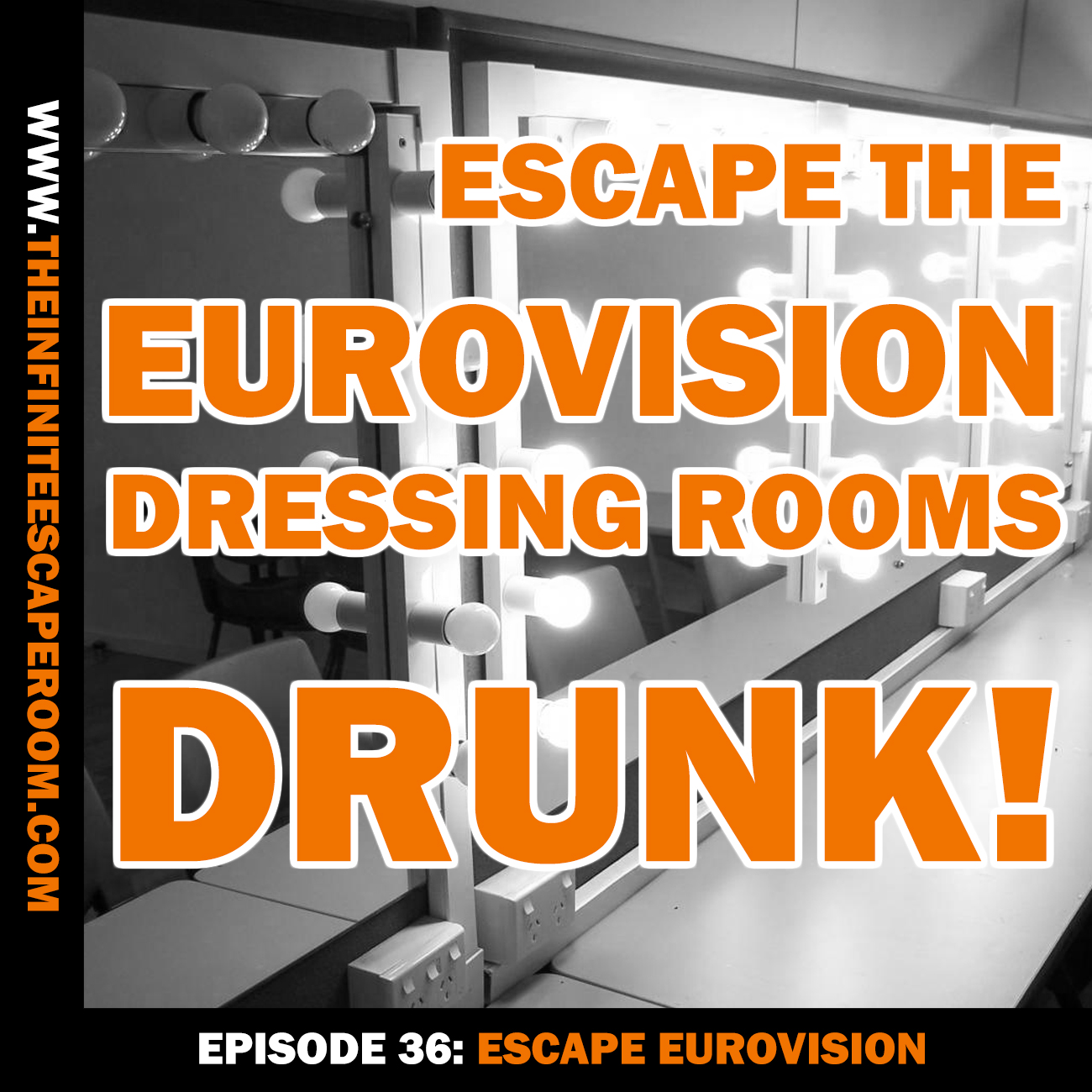 Escape the Eurovision dressing rooms…drunk!